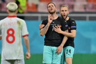Uefa investiga acusação de racismo em Áustria x Macedônia, na Eurocopa | Reprodução