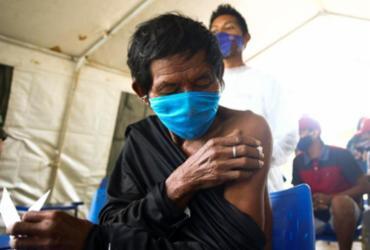 Covid-19: 82% dos indígenas receberam 1ª dose, diz Ministério da Saúde | Marcelo Camargo | Agência Brasil