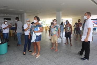 Prefeitura retoma vacinação de grupos prioritários e segue com antecipação da 2ª dose nesta quarta | Foto: Olga Leiria | Ag. A Tarde | 09/06/21