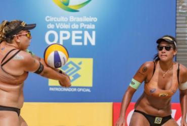Melhores duplas brasileiras de vôlei de praia estreiam no Superpraia |
