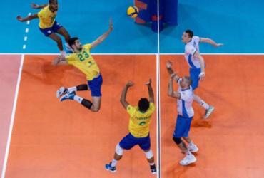 Em jogo disputado, Brasil derrota Eslovênia na Liga Mundial de vôlei | Divulgação | FIVB