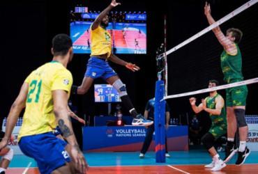 Liga das Nações: seleção brasileira de vôlei passa fácil pela Austrália | Divulgação | FIVB