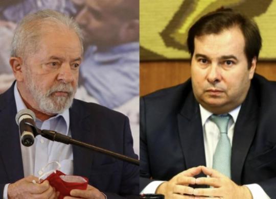Após expulsão do DEM, Rodrigo Maia se oferece para ajudar Lula em 2022 | Marcelo Camargo | Agência Brasil