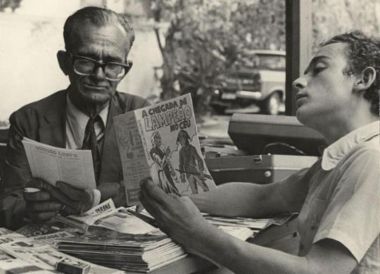 Salvador sediou o I Congresso Nacional de Trovadores e Violeiros em 1955 | Arquivo A TARDE | 17.11.1976