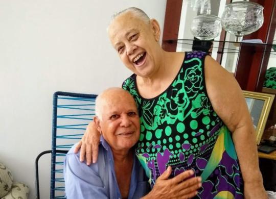 Casais idosos dão exemplo de amor no Dia dos Namorados   Divulgação   Arquivo Pessoal
