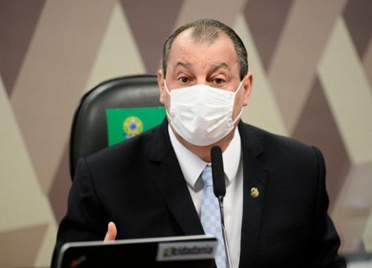 'Liberdade de expressão não é libertinagem de expressão', diz Aziz em resposta a Lira e Pacheco | Pedro França | Agência Senado