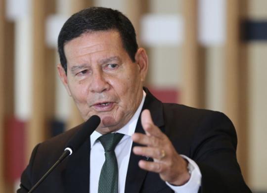 """Discurso de Bolsonaro na ONU é """"a visão do nosso governo"""", diz Mourão   Fabio Rodrigues Pozzebom I Agência Brasil"""
