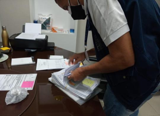 Operação Panaceia bloqueia R$14 milhões de investigados por sonegação fiscal   Divulgação