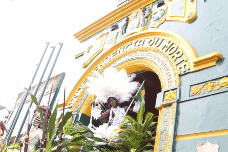 Haverá atos comemorativos simbólicos no Largo da Lapinha, com acesso restrito apenas a autoridades e imprensa   Foto: Bruno Concha   Secom - Foto: Bruno Concha   Secom
