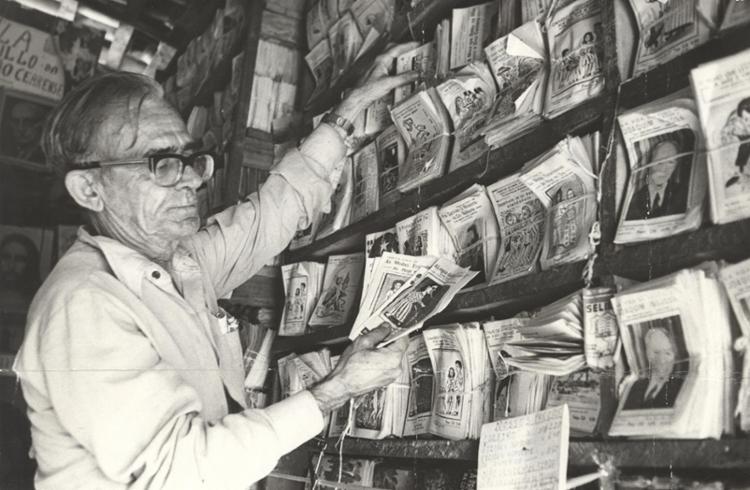 Rodolfo Cavalcanti foi o organizador I Congresso Nacional de Trovadores e Violeiros realizado em 1955 - Foto: Data: 11/5/1977. Foto: Cedoc A TARDE