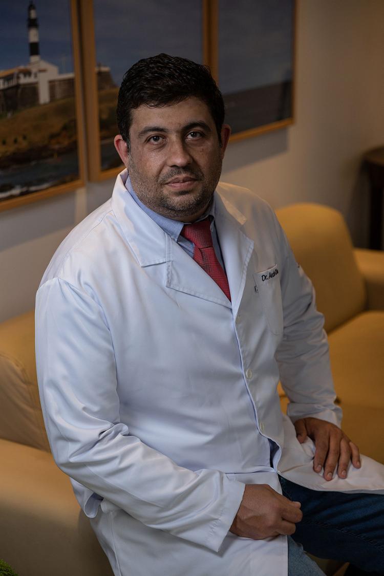 Aedo Khouri, ortopedista e cirurgião da mão   Foto: Uendel Galter   Ag. A TARDE - Foto: Uendel Galter   Ag. A TARDE