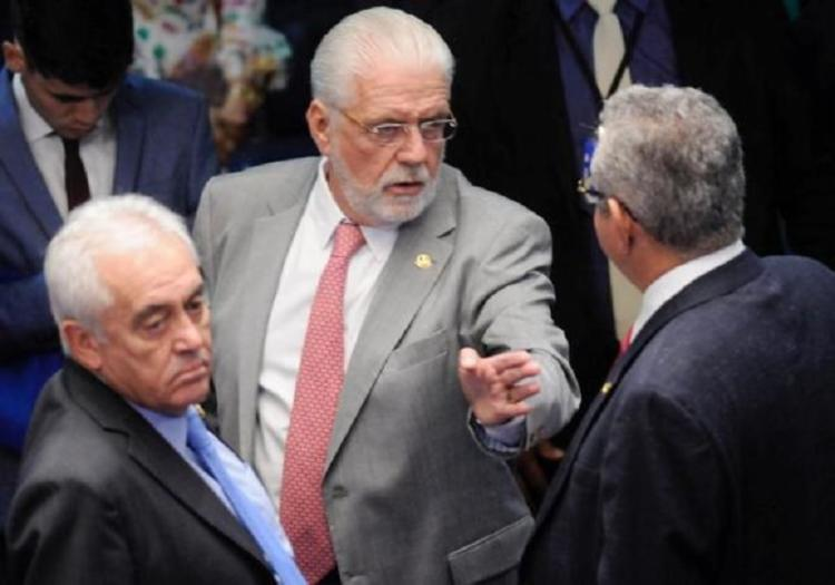 Otto Alencar (PSD) e Jaques Wagner (PT) no Senado Federal - Foto: Reprodução I Facebook