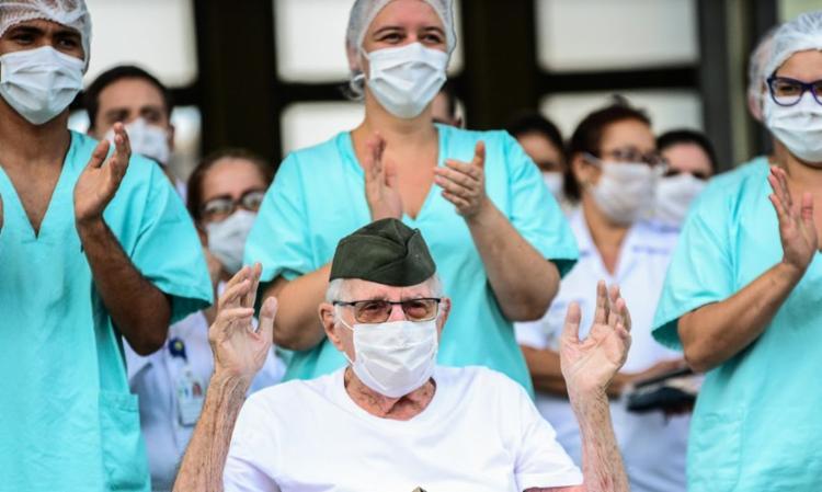 Depois da alta hospitalar, o paciente passa por uma avaliação inicial   Foto: Cb Estevam/CCOMSEx - Foto: Cb Estevam/CCOMSEx