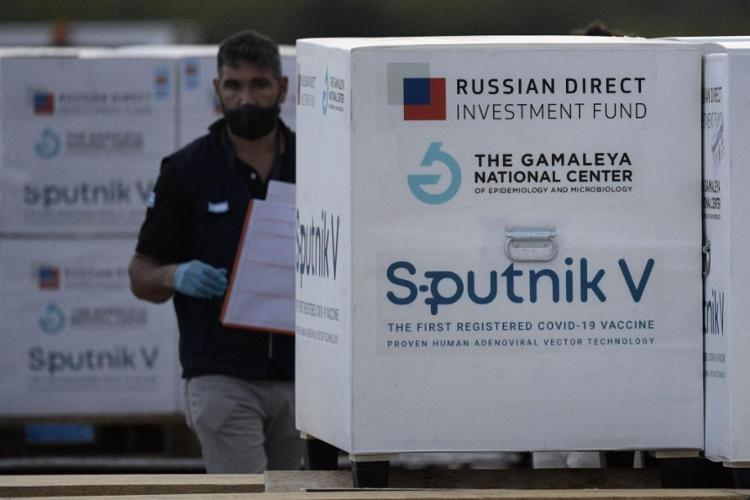 A Bahia e o Fundo Russo já assinaram o contrato de compra de compra de 9,7 milhões de doses da Sputnik V   Juan Mabromata   AFP - Foto: Foto: Juan Mabromata   AFP