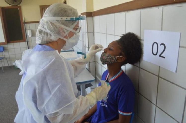 A taxa de letalidade da Covid-19 no território baiano corresponde a 2,12% do total de diagnósticos positivos | Foto: Divulgação | Sesab - Foto: Divulgação | Sesab