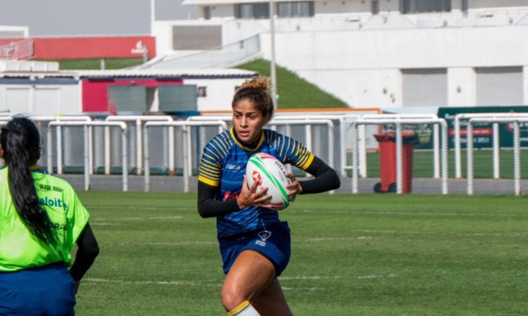 Cria de Paraisópolis, Bianca inspira jovens como esperança das Yaras | Foto: Reprodução Twitter | Dubai Rugby Sevens - Foto: Reprodução Twitter | Dubai Rugby Sevens
