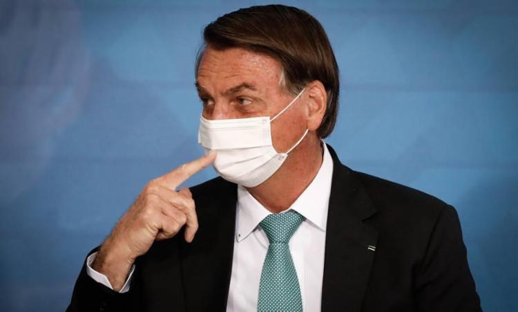 O presidente não se pronunciou sobre as 500 mil mortes pela Covid-19 no Brasil | Foto: Arquivo | Ag. Brasil - Foto: Reprodução