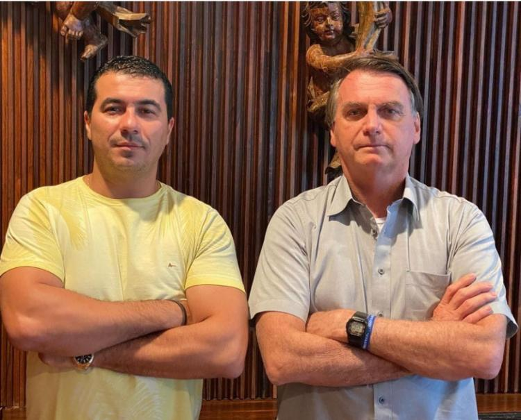 Encontro foi em março, no Palácio do Planalto | Foto: Reprodução | Instagram - Foto: Reprodução | Instagram