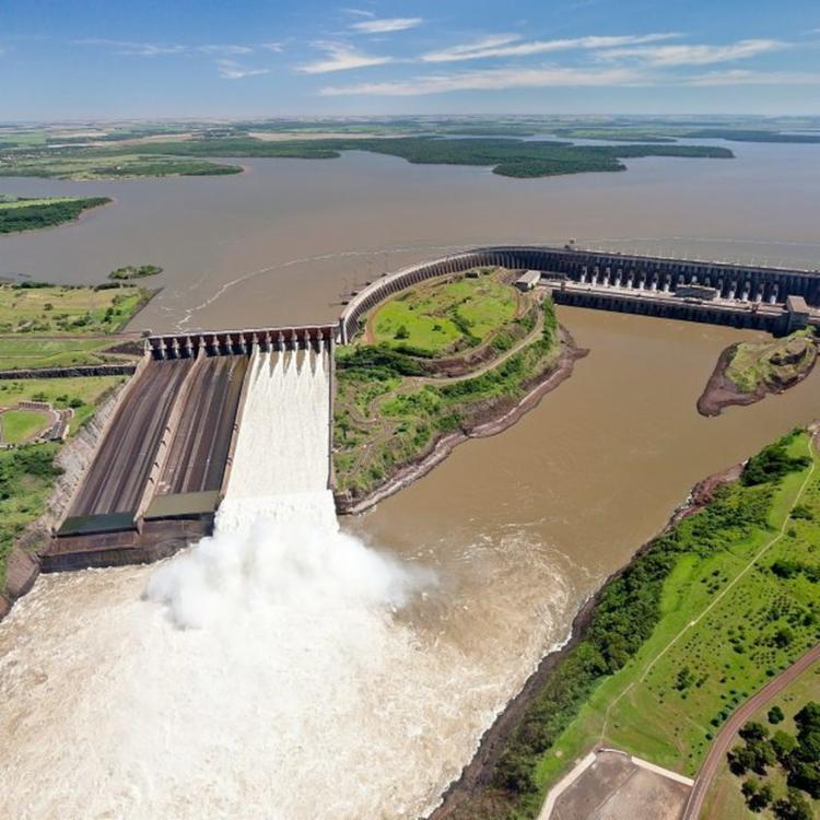 HIdrelétrica de Itaipu é uma das grandes responsáveis pela fornecimento de energia elétrica | Foto: Alexandre Marchetti | Itaipu Binacional - Foto: Alexandre Marchetti | Itaipu Binacional