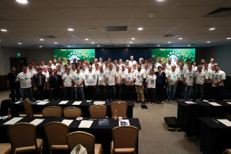 CNMF/CBF promove cursos anuais para os médicos que atuam no futebol brasileiro | Foto:Lucas Figueiredo | CBF