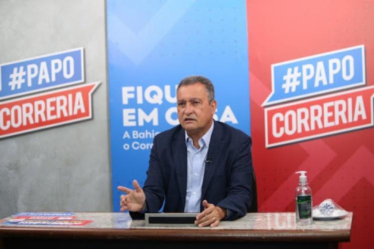 Anúncio foi feito pelo governador Rui Costa durante o Papo Correria | Foto: Divulgação - Foto: Divulgação