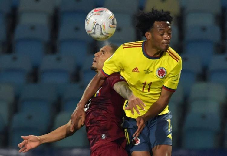 Colômbia e Venezuela entram em campo pelo torneio | Foto: Nelson Almeida | AFP - Foto: Nelson Almeida | AFP