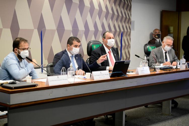 Irmãos Miranda depõem na CPI da Covid no Senado | Foto: Pedro França | Agência Senado - Foto: Pedro França | Agência Senado