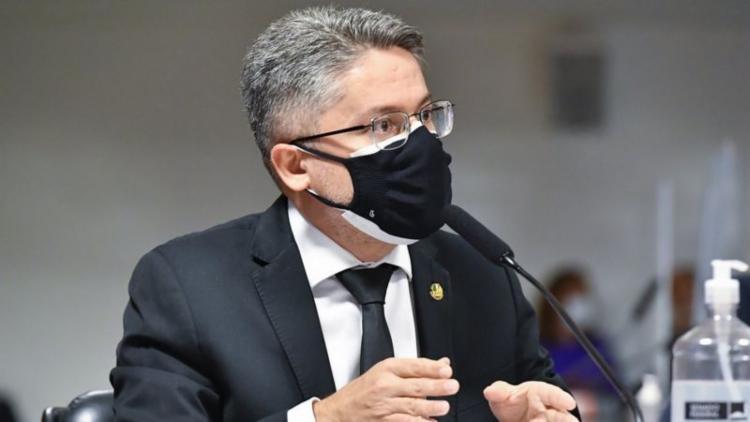 Alessandro Vieira acredita que saída do presidente Bolsonaro será decidida na próxima eleição | Foto: Waldemir Barreto | Agência Senado - Foto: Waldemir Barreto | Agência Senado