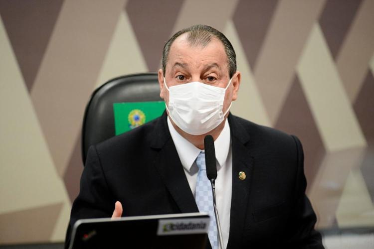 Aziz disse que fez vários apelos para que Dias contribuísse com a CPI, mas que foi ignorado   Foto: Pedro França   Agência Senado - Foto: Pedro França   Agência Senado