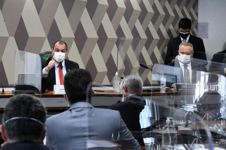 O cronograma da CPI da Covid previa ouvir Maximiano na próxima quarta-feira, 4| Foto: Edilson Rodrigues | Agência Senado - Foto: Edilson Rodrigues | Agência Senado