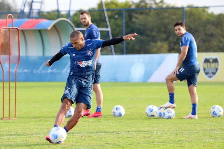 Nino Paraíba deve voltar ao time titular após cumprir suspensão do STJD   Foto: Felipe Oliveira   EC Bahia - Foto: Felipe Oliveira   EC Bahia