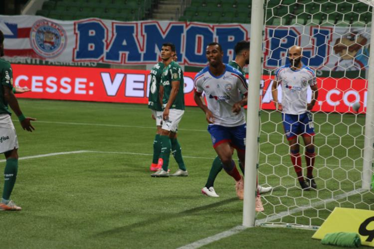 Tricolor abusou dos gols perdidos e sofreu no fim   Foto: Rafael Machaddo   EC Bahia - Foto: Rafael Machaddo   EC Bahia