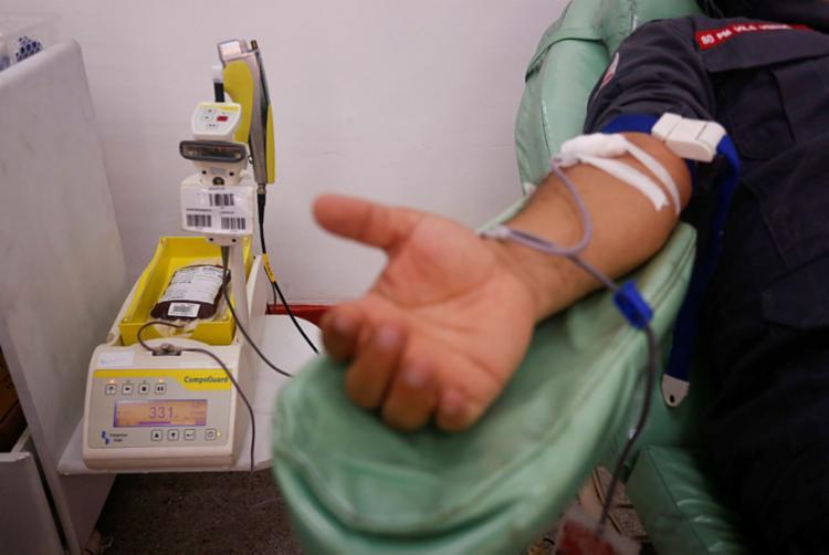 Dia Mundial do Doador de Sangue é celebrado nesta segunda   Foto:Olga Leiria   Ag. A TARDE - Foto: Olga Leiria   Ag. A TARDE
