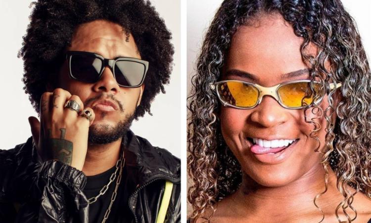 Rapper Emicida e a funkeira MC Dricka são os dois brasileiros indicados no prêmio   Foto: Reprodução   Internet