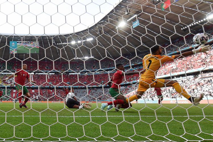Gols da Alemanha saíram após passes rápidos e inversões de jogo | Foto: Christof Stache | AFP - Foto: Christof Stache | AFP