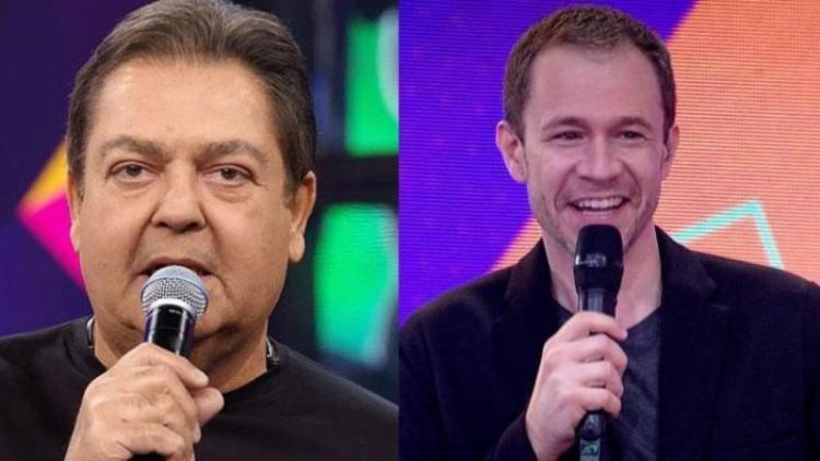 Na última edição do 'Domingão' Tiago Leifert substituiu Faustão | Foto:Reprodução | TV Globo - Foto: Reprodução | TV Globo