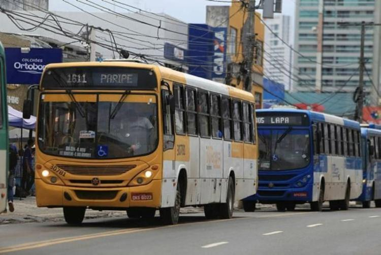 Durante a operação, as linhas irão direcionar os usuários para as estações de transbordo   Foto: Joá Souza   Ag. A TARDE - Foto: Da Redação   Foto: Joá Souza   Ag. A TARDE