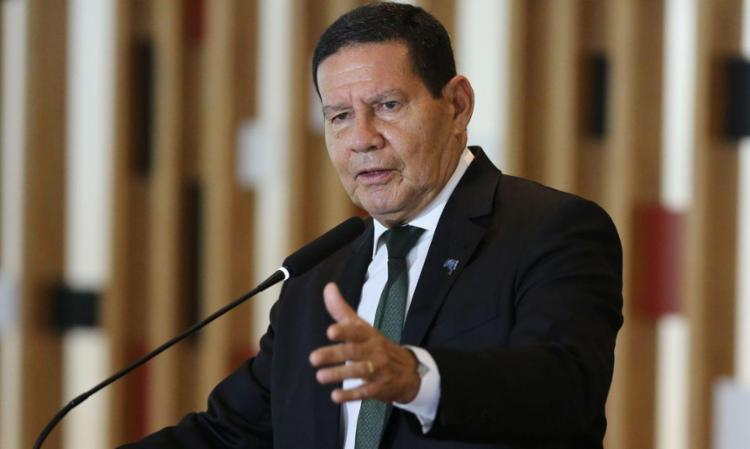 Mourão refutou a hipótese de não haver pleito nacional | Foto: Fabio Rodrigues Pozzebom | Agência Brasil - Foto: Fabio Rodrigues Pozzebom | Agência Brasil