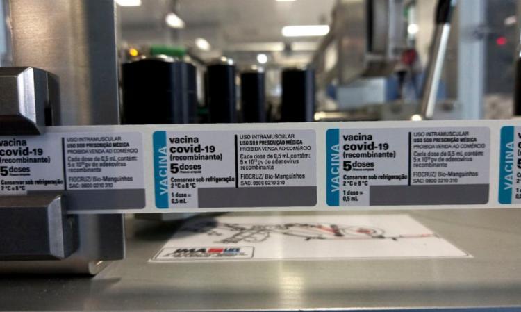Carregamento com ingrediente farmacêutico ativo chegou ao aeroporto do Galeão | Foto: Divulgação | Fiocruz - Foto: Divulgação | Fiocruz