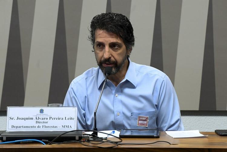 Joaquim Leite foi gestor de secretaria ligada ao Ministério do Meio Ambiente e é próximo do setor agropecuário - Foto: Marcos Oliveira/Agência Senado
