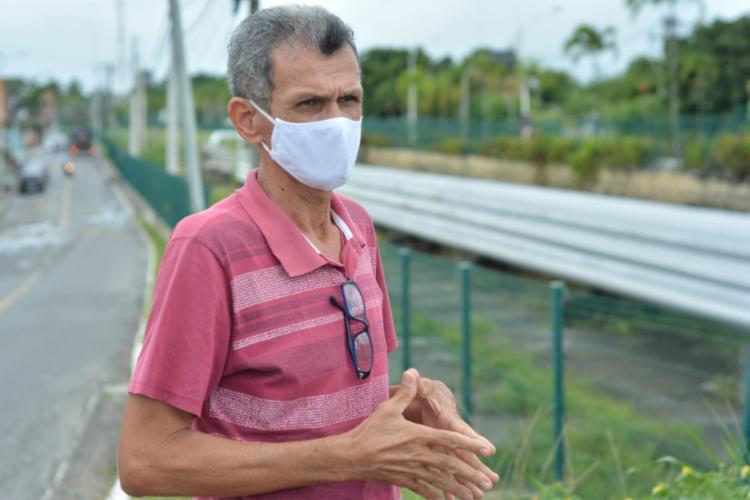 Jorge Freitas sofre com o mau cheiro e barulhos insuportáveis em Madre de Deus Foto: Robson Pierre | Divulgação - Foto: Robson Pierre | Divulgação