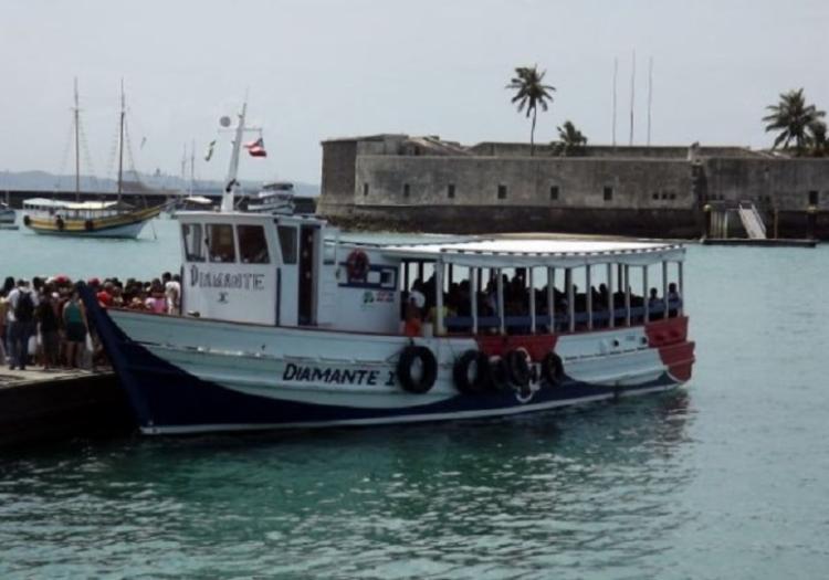 A primeira lancha partindo de Salvador saiu às 8h30 I Foto: Divulgação - Foto: Divulgação