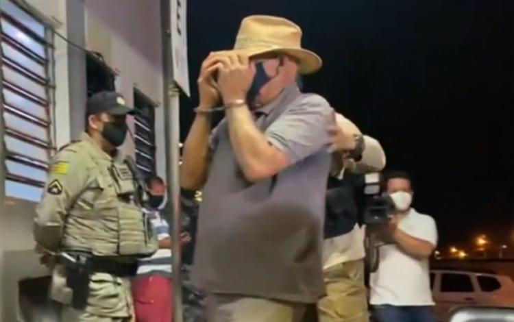 Um dos presos é um fazendeiro da região | Foto: Reprodução | TV Globo - Foto: Reprodução | TV Globo