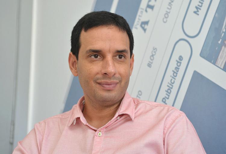 Leo Prates, secretário municipal da Saúde de Salvador   Foto: Shirley Stolze   Ag A TARDE   15.1.2020 - Foto: Shirley Stolze   Ag A TARDE   15.1.2020
