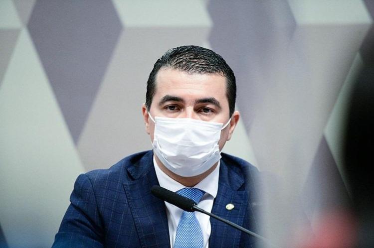 Deputado apontou suposta prevaricação do presidente no caso Covaxin | Foto: Agência Senado - Foto: Agência Senado