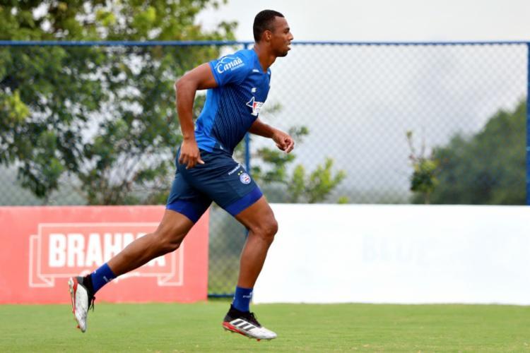 Luiz Otávio já cumpriu a suspensão automática pela expulsão na Copa do Nordeste | Foto: Felipe Oliveira | EC Bahia - Foto: Felipe Oliveira | EC Bahia