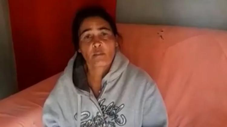 Eva Maria, mãe de Lázaro Barbosa - Foto: Reprodução I RecordTV