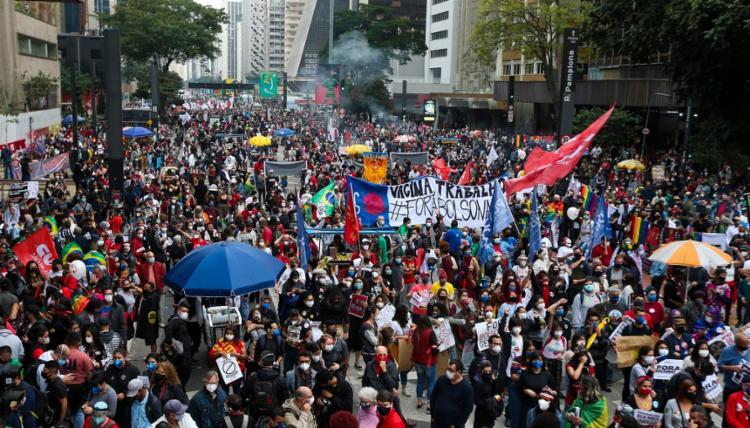 Estão planejadas manisfestações até o dia 24 de julho | Foto: Paulo Pinto | AFP - Foto: Paulo Pinto | AFP