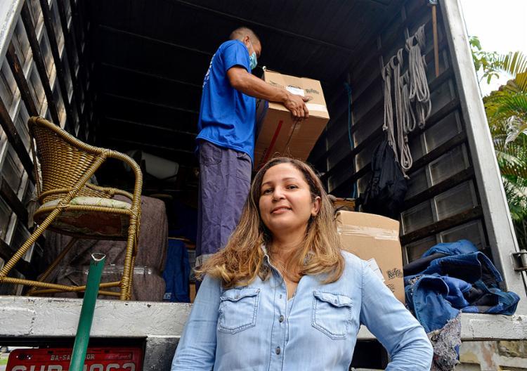 Martha conta que reforçou sua equipe para garantir rapidez | Foto: Shirley Stolze | Ag. A TARDE - Foto: Shirley Stolze | Ag. A TARDE