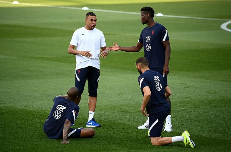 A França de Mbappe é a líder do Grupo F | Foto: Franck Fife | AFP - Foto: Franck Fife | AFP